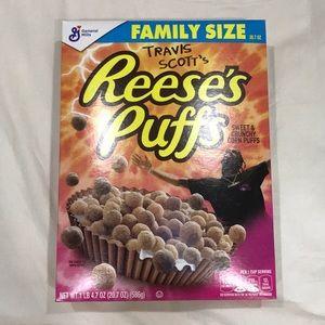 Travis Scott Reese's Puffs Cereal